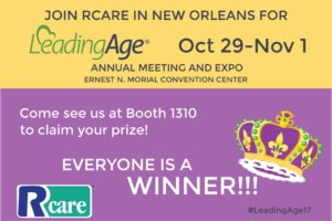 RCare Tradeshows 2017 LeadingAge Graphic