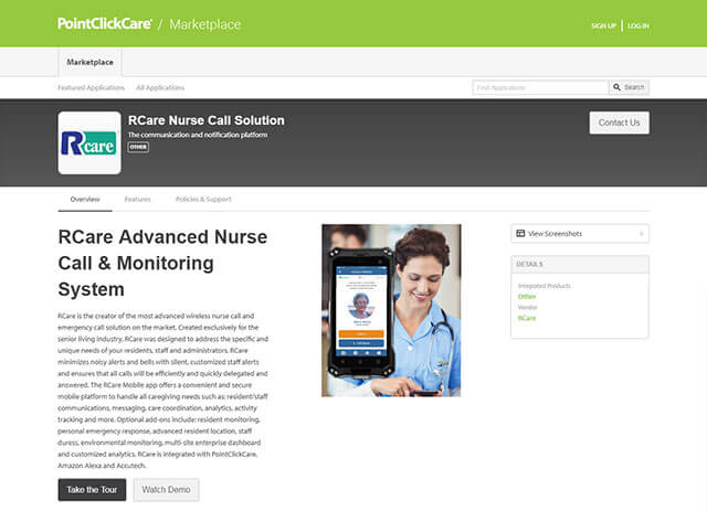RCare is now available on the PCC Marketplace