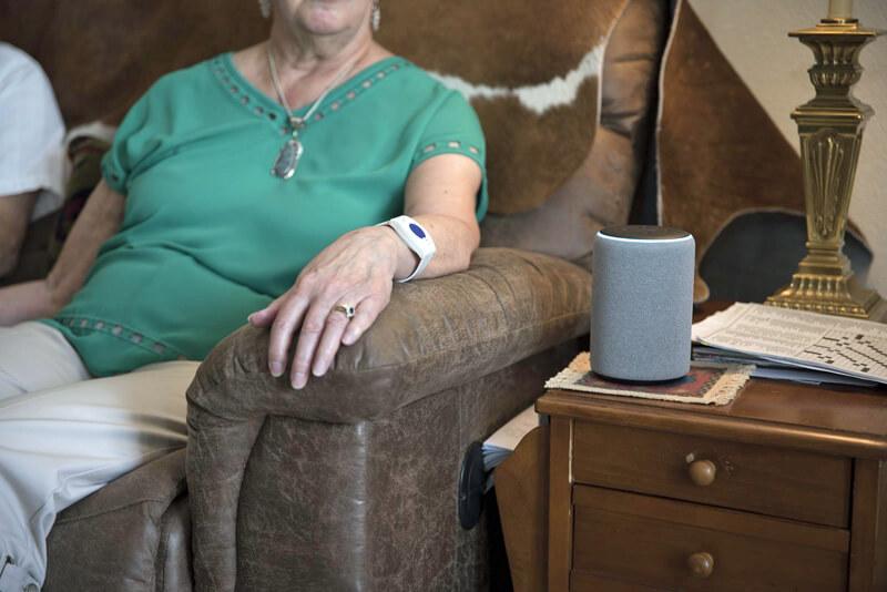 Alexa, please call my nurse: an RCare Alexa case study