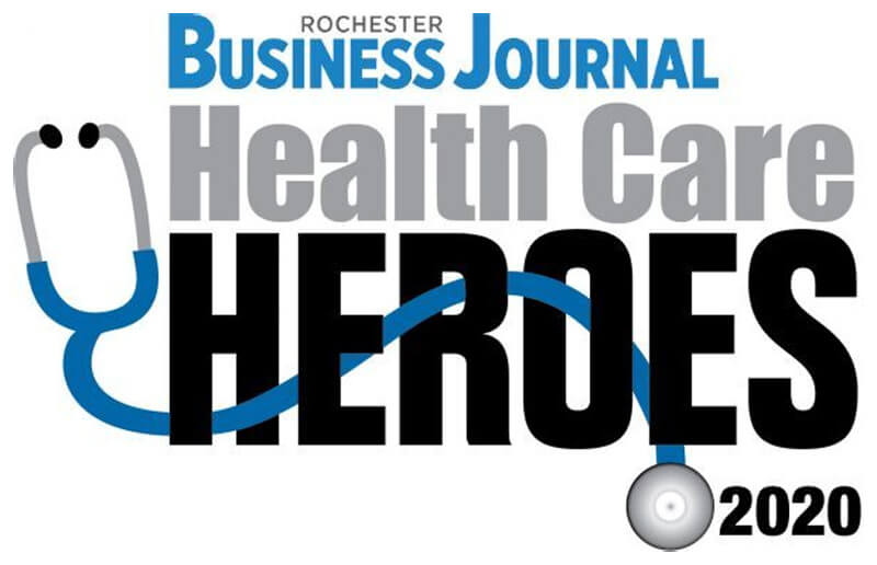 RCare Wins Rochester Business Journal Health Care Hero Award