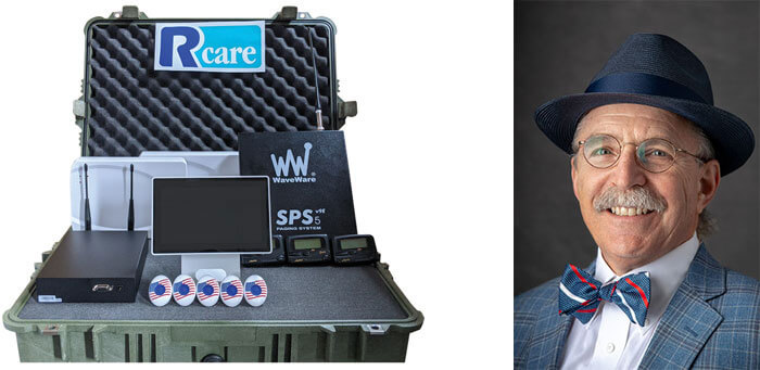 RCare's Rapid Deployment Kit and RCare's CEO Myron Kowal