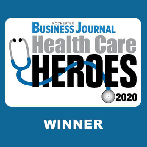 Health Care Heroes award winner