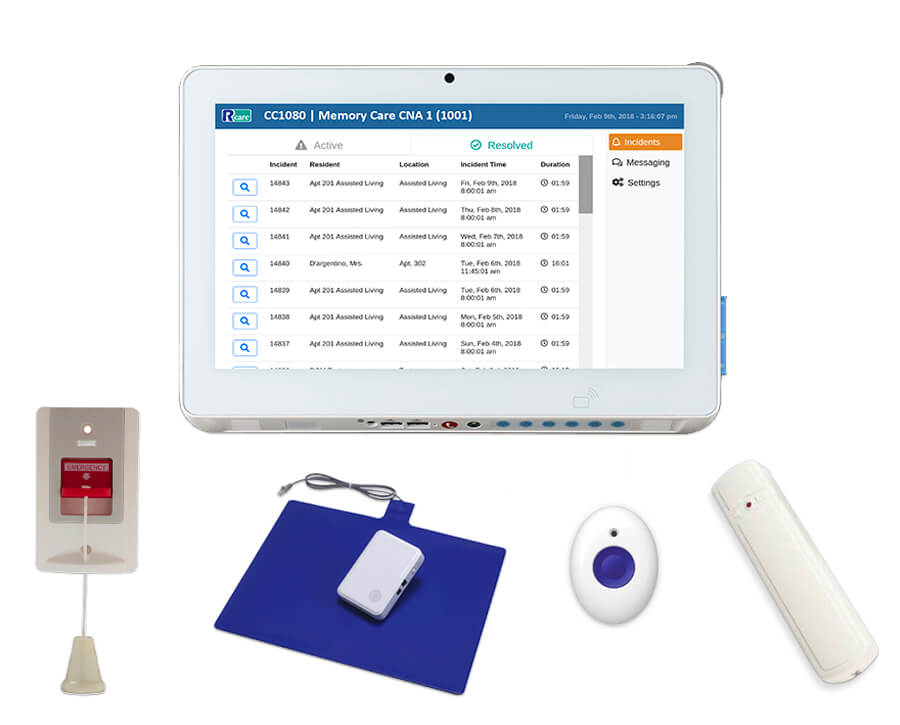 Nurse call system accessories to customize your RCare solution