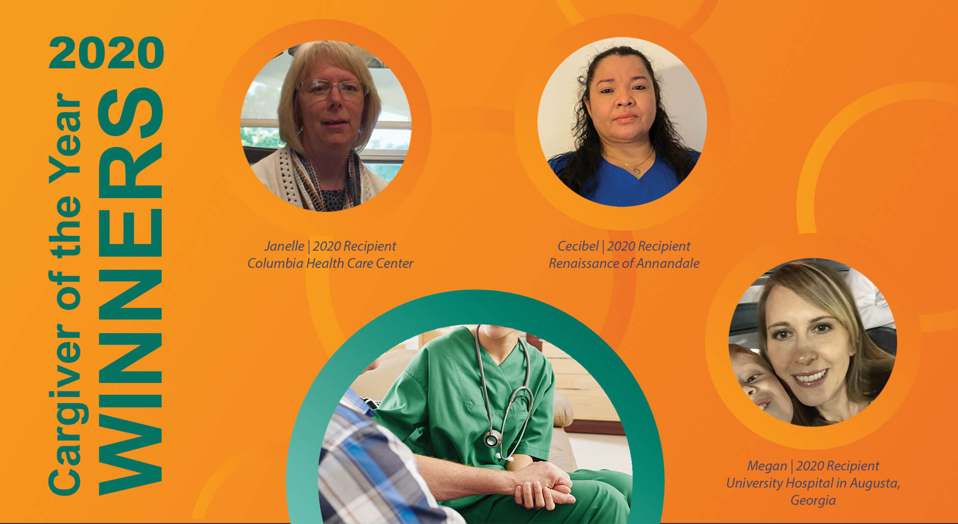 2020 Caregiver of the Year winners